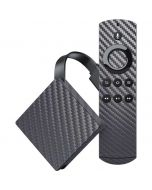 Silver Carbon Fiber Amazon Fire TV Skin