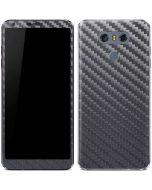Silver Carbon Fiber LG G6 Skin