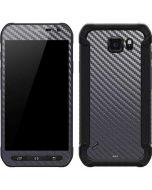 Silver Carbon Fiber Galaxy S6 Active Skin