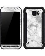Silver Marble Galaxy S6 Active Skin