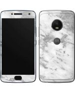 Silver Marble Moto G5 Plus Skin