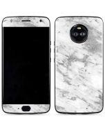 Silver Marble Moto X4 Skin
