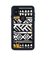 Simba Tribal Print iPhone X Waterproof Case