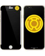 Sinestro Emblem iPhone 6/6s Skin
