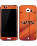 San Francisco Giants Alternate Home Jersey Galaxy S6 Edge Skin