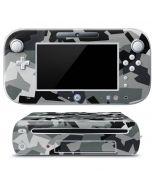 Urban Camouflage Black Wii U (Console + 1 Controller) Skin
