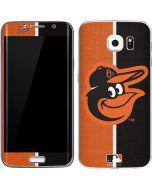Baltimore Orioles Split Galaxy S6 Edge Skin
