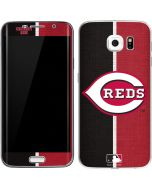 Cincinnati Reds Split Galaxy S6 Edge Skin