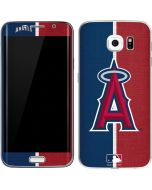Los Angeles Angels Split Galaxy S6 Edge Skin