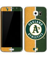 Oakland Athletics Split Galaxy S6 Edge Skin