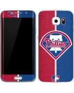 Philadelphia Phillies Split Galaxy S6 Edge Skin