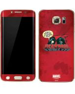 Deadpool Sushi Galaxy S7 Edge Skin