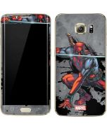 Deadpool Unsheathed Galaxy S7 Edge Skin