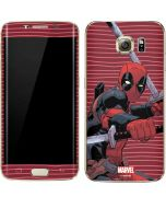 Deadpool Dual Wield Galaxy S7 Edge Skin