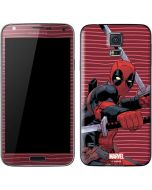 Deadpool Dual Wield Galaxy S5 Skin