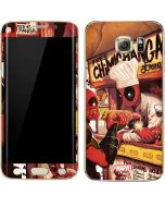 Deadpool Chimichangas Galaxy S7 Edge Skin