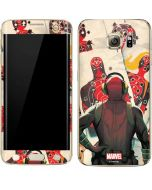 Deadpool Target Practice Galaxy S7 Edge Skin
