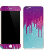 Paint Splatter Purple iPhone 6/6s Plus Skin