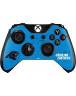 Carolina Panthers Distressed Alternate Xbox One Controller Skin