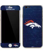 Denver Broncos - Distressed iPhone 6/6s Skin
