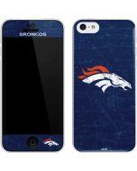 Denver Broncos - Distressed iPhone 5c Skin