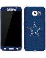 Dallas Cowboys Distressed Galaxy S6 Skin