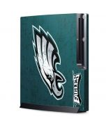 Philadelphia Eagles Distressed Playstation 3 & PS3 Slim Skin