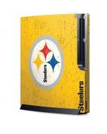 Pittsburgh Steelers - Alternate Distressed Playstation 3 & PS3 Slim Skin