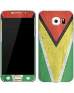 Guyana Flag Distressed Galaxy S7 Skin