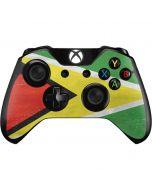 Guyana Flag Distressed Xbox One Controller Skin