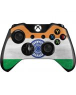 India Flag Distressed Xbox One Controller Skin