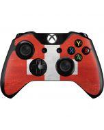 Switzerland Flag Distressed Xbox One Controller Skin
