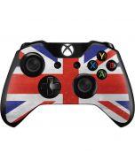 United Kingdom Flag Distressed Xbox One Controller Skin
