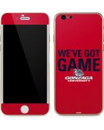 Gonzaga University Weve Got Game iPhone 6/6s Skin