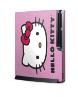 Hello Kitty Face Pink Playstation 3 & PS3 Slim Skin
