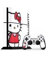 Hello Kitty Classic White PS4 Console and Controller Bundle Skin