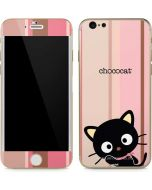 Chococat Pink and Brown Stripes iPhone 6/6s Skin