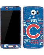 Chicago Cubs -Cap Logo Blast Galaxy S6 Skin