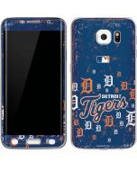 Detroit Tigers - Primary Logo Blast Galaxy S6 Edge Skin