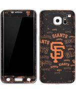 San Francisco Giants - Cap Logo Blast Galaxy S6 Edge Skin