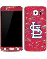 St. Louis Cardinals - Cap Logo Blast Galaxy S6 Edge Skin
