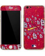 St. Louis Cardinals - Primary Logo Blast iPhone 6/6s Skin