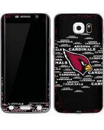 Arizona Cardinals Black Blast Galaxy S6 Edge Skin