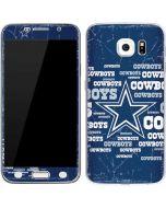 Dallas Cowboys Blast Galaxy S6 Skin