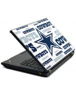 Dallas Cowboys Blue Blast Lenovo T420 Skin