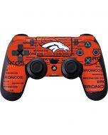 Denver Broncos Orange Blast PS4 Controller Skin
