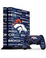 Denver Broncos Blue Blast PS4 Console and Controller Bundle Skin
