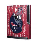 Houston Texans - Blast Playstation 3 & PS3 Slim Skin