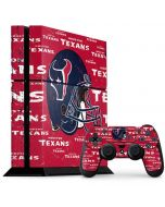 Houston Texans - Blast PS4 Console and Controller Bundle Skin