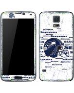 Seattle Seahawks - Blast White Galaxy S5 Skin